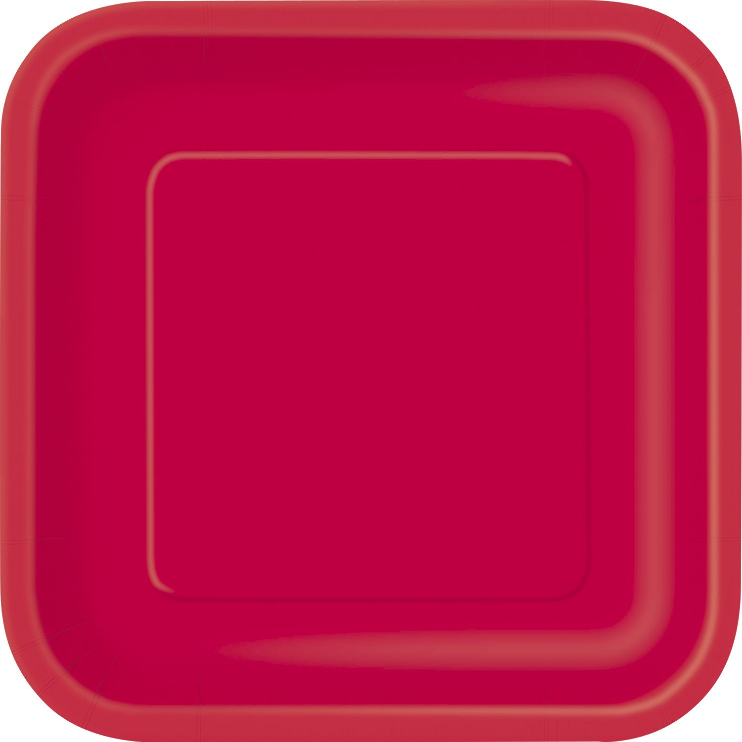 red paper plates Keep your party colour co-ordinated with these paper party plates.